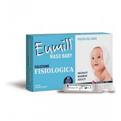 Eumill Naso Baby Soluzione Fisiologia 20 flaconcini da 5ml