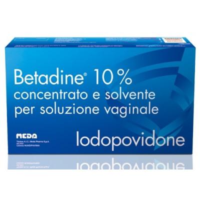 Betadine Concentrato e Solvente per Soluzione Vaginale 10%