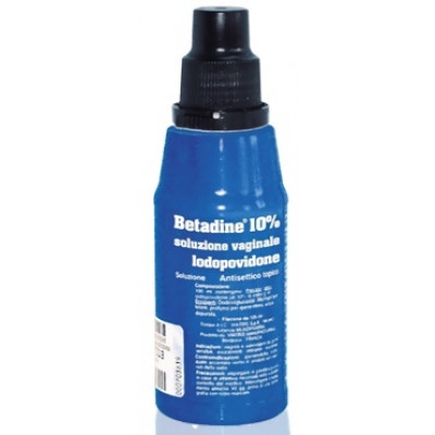 Betadine Soluzione Vaginale 10% 125ml