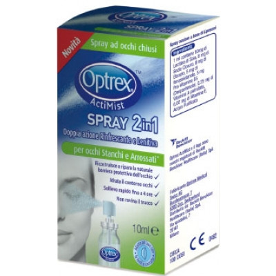 Optrex Actimist 2in1Spray per occhi Stanchi e Arrossati