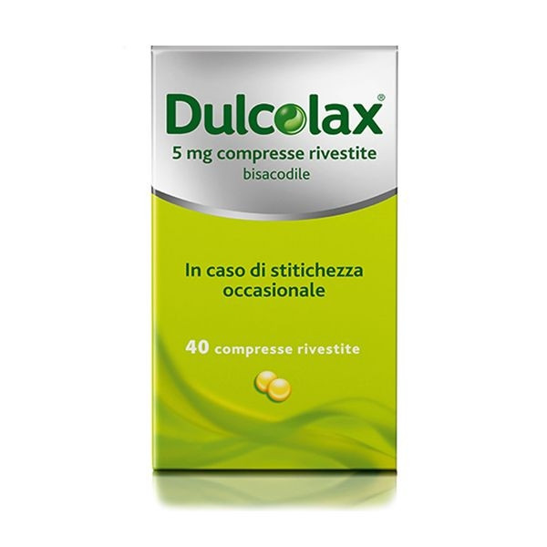 Dulcolax 40 Compresse Rivestite 5 mg offerta