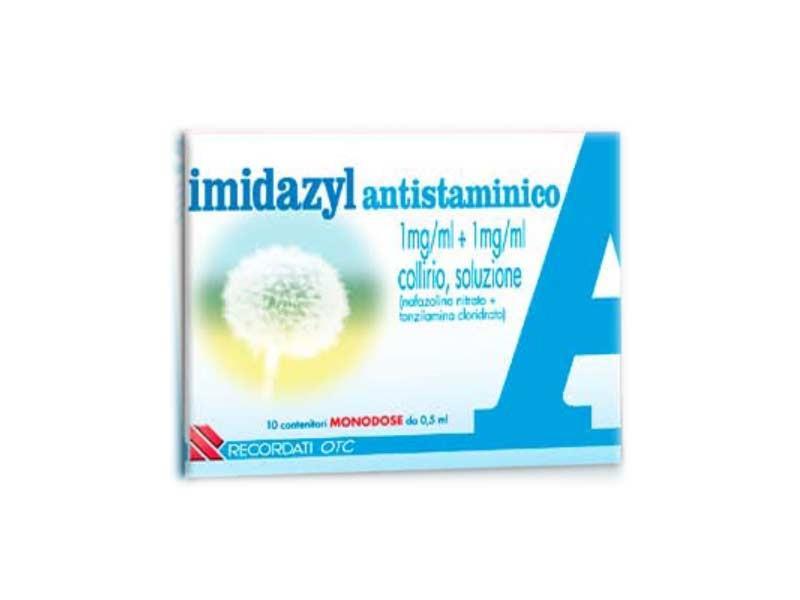 Imidazyl Antistaminico Collirio 10 contenitori monodose 0,5ml offerta