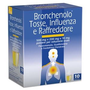Bronchenolo Tosse Influenza e Raffreddore 10 Bustine prezzi bassi