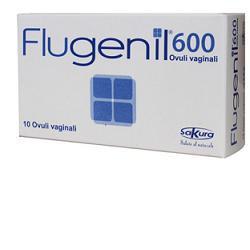 Flugenil 600 Ovuli Vaginali 10 Ovuli