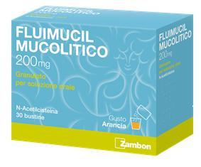 Fluimucil Mucolitico 30 Bustine 200 Mg offerta