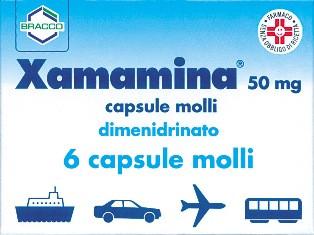 Xamamina 6 Capsule Molli 50 Mg offerta