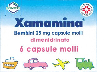Xamamina Bambini 6 Capsule Molli 25mg