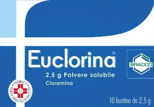 Euclorina Polvere Solubile 10 Bustine 2,5g offerta
