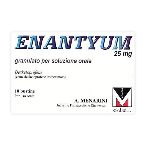 Enantyum 10 Bustine Granulato Orale 25mg offerta