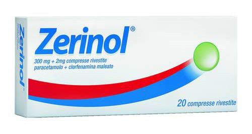Zerinol 20 Compresse Rivestite 300 Mg + 2 Mg
