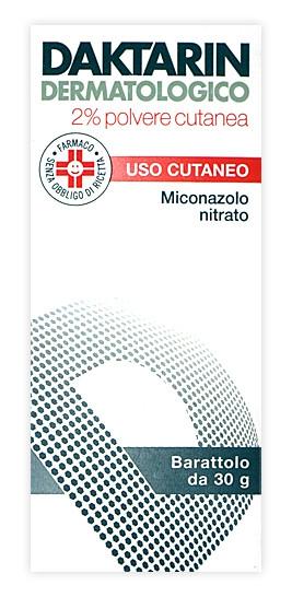 Daktarin Dermatologico 2% Polvere Cutanea Antimicotica Per Funghi 30g prezzi bassi