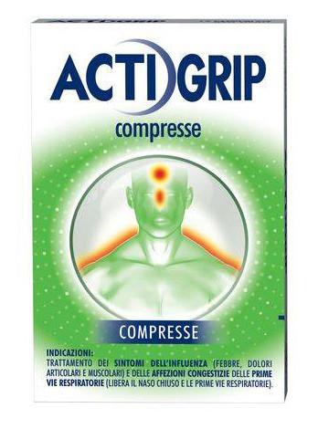 Actigrip 12 compresse offerta
