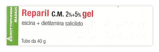 Reparil Gel CM 2% + 5% Dolori Articolari 40g offerta