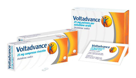 Voltadvance 10 Compresse Rivestite 25 Mg offerta