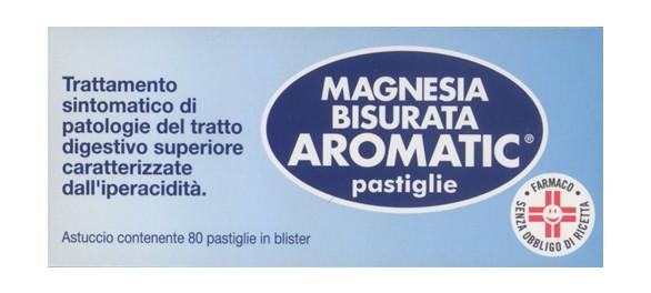 Magnesia Bisurata Aromatic 80 Pastiglie offerta