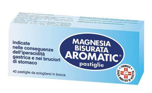 Magnesia Bisurata Aromatic 40 Pastiglie offerta