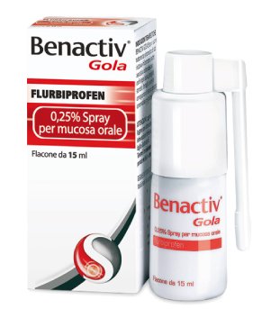 Benactiv Gola Spray Mucosa 15ml offerta