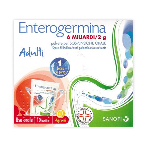 Enterogermina 6 Miliardi 10 bustine offerta