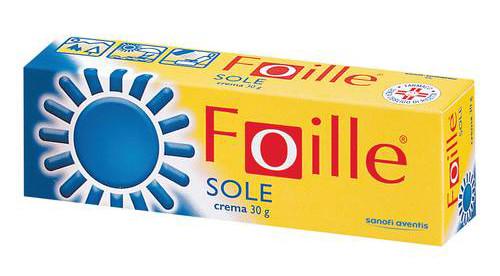 Foille Sole Crema Dermatologica 30g offerta