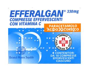 Efferalgan 330Mg+200Mg 20 compresse effervescenti offerta