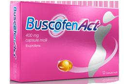 Buscofen Act 12 Capsule Molli 400 mg prezzi bassi