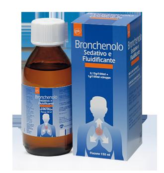 Bronchenolo Sedativo Fluidificante Sciroppo 150ml offerta