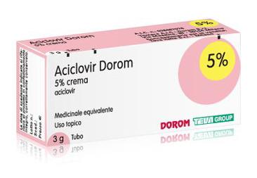 Aciclovir Dorom Crema 3 G 5% offerta