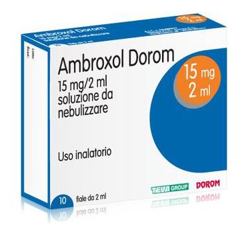 Ambroxol Dorom 15 mg Soluzione da Nebulizzare 10 Fiale 2 ml offerta