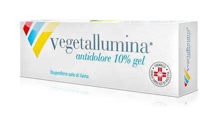 Vegetallumina Antidolore Gel 50g 10% offerta