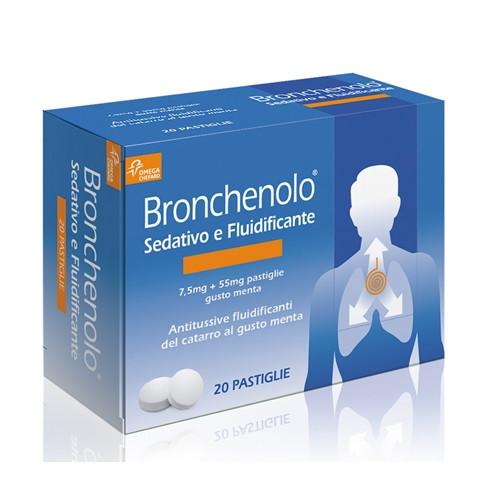 Bronchenolo Sedativo e Fluidificante 20 pastiglie offerta