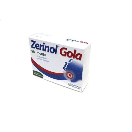 Zerinol Gola Menta 18 Pastiglie 20 Mg offerta