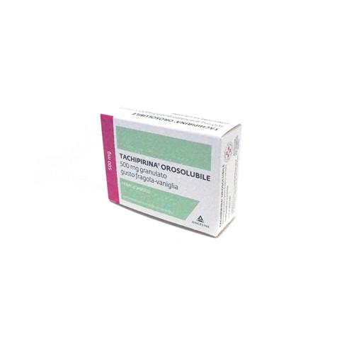 Tachipirina Orosolubile 12 Bustine 500mg Gusto Fragola E Vaniglia offerta