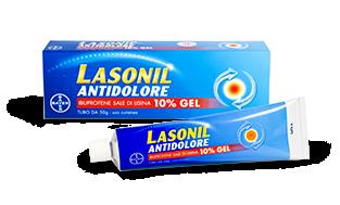 Lasonil Antidolore Gel 120g 10% offerta