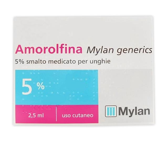 Amorolfina Smalto Unghie 1 flacone 2,5ml offerta