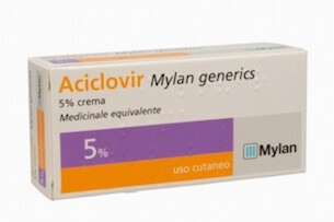 Aciclovir Crema Dermatologica 5% 3g offerta