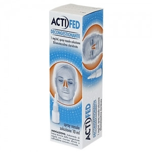 Actifed Decongestionante Spray Nasale 10ml