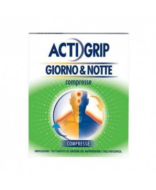Actigrip Giorno & Notte 12+4 compresse offerta