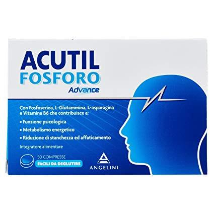 ACUTIL FOSFORO ADVANCE 50CPR prezzi bassi