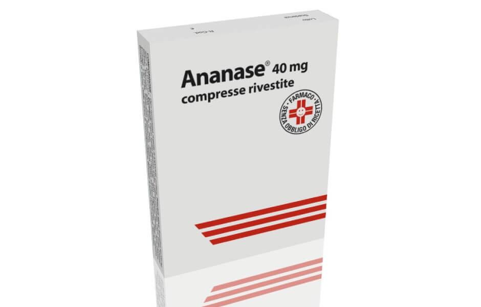 Ananase 20 Compresse 40 Mg offerta