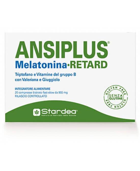 Ansiplus Retard Melatonina 20 compresse