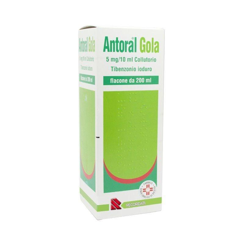 Antoral Gola Collutorio 5mg/10ml 200ml offerta