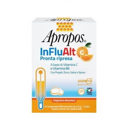 Apropos InFluAlt C Pronta Ripresa 10 compresse effervescenti