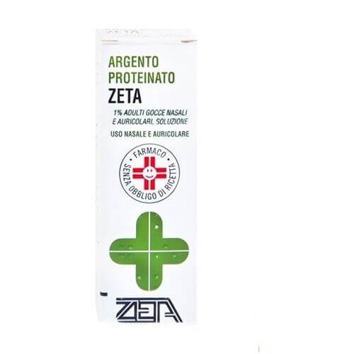 Argento Proteinato Zeta 1% Gocce 10 ml offerta