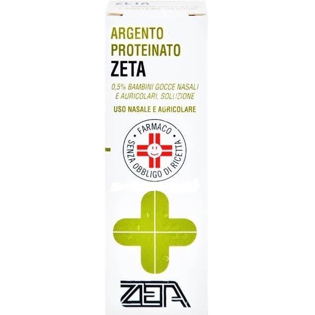 Argento Proteinato Zeta Bambini 0,5% Gocce 10 ml offerta