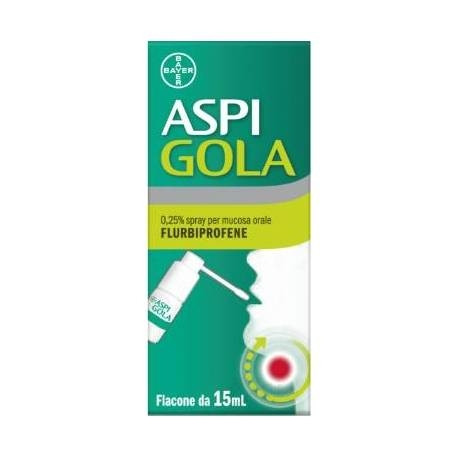 Aspi Gola Spray Mucosa Orale 15ml offerta