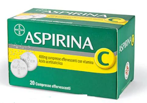 Aspirina C 20 compresse effervescenti offerta