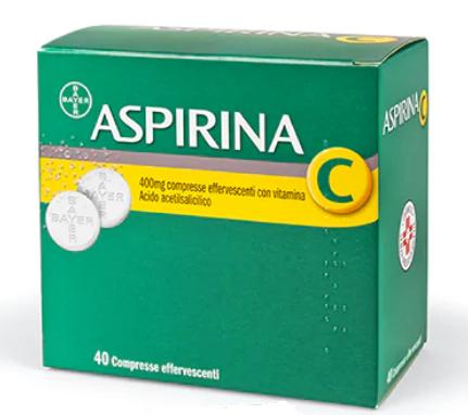 Aspirina C 40 compresse effervescenti offerta