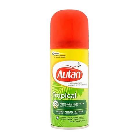 Autan Tropical Spray Secco 100ml offerta