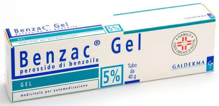 Benzac Gel 40 gr 5% offerta