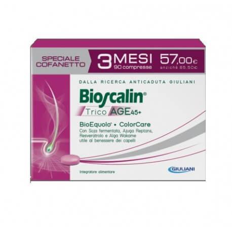 Bioscalin TricoAGE 45+ 90 compresse